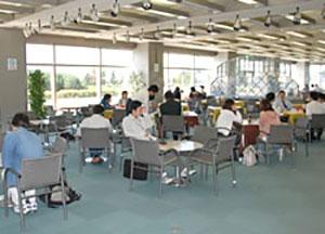 施設内部の写真