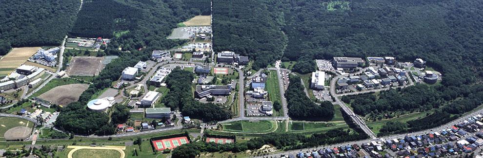 札幌テクノパークの空撮写真